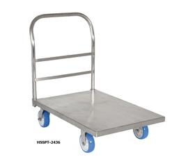 STAINLESS STEEL PLATFORM TRUCKS