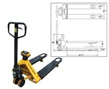 PW SERIES PALLET JACK SCALE