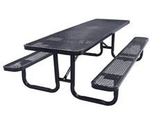 EXPANDED METAL PICNIC TABLE