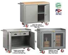 "48"" WIDE MOBILE CABINET BENCHES"